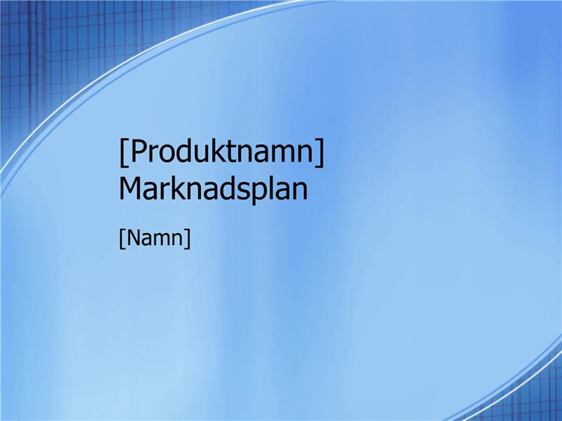 Presentation av marknadsföringsplan