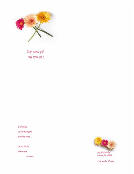 Mors dag-kort (för fru)