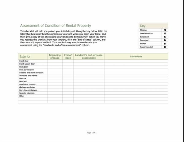 Besiktningsprotokoll för hyresobjekt