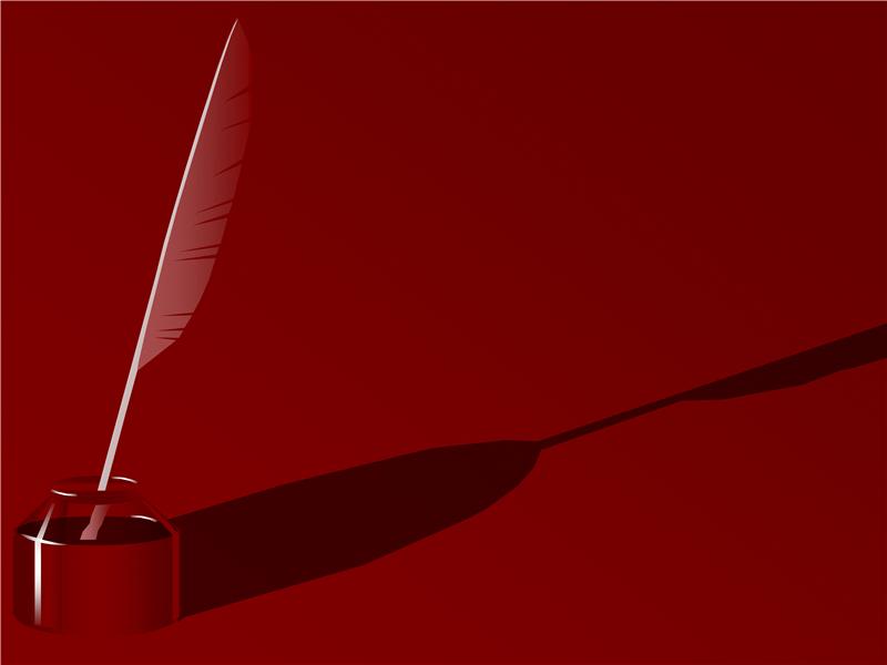 Formgivningsmall – fjäderpenna