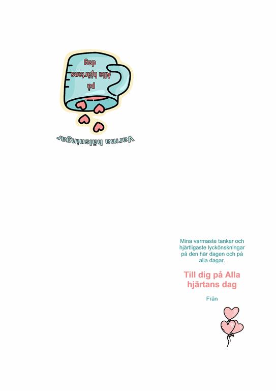 Alla hjärtans dag-kort
