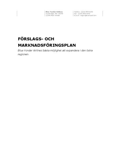 Affärsrapport (professionellt tema)