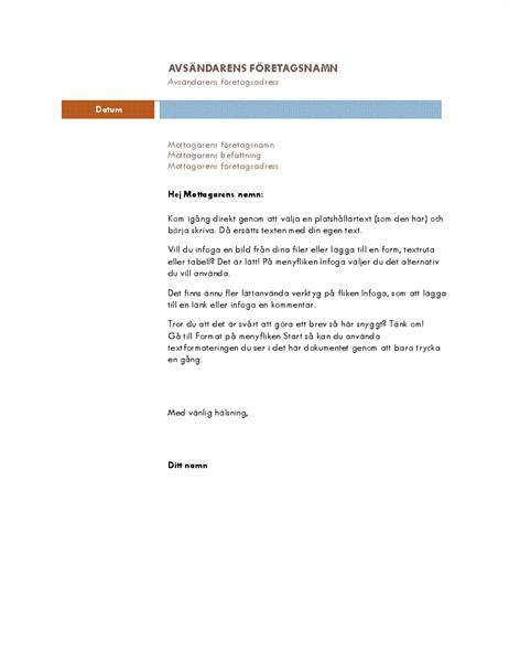 Affärsbrev (Median-tema)