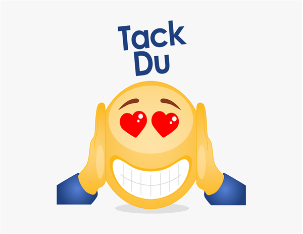 Emoji-tackkort