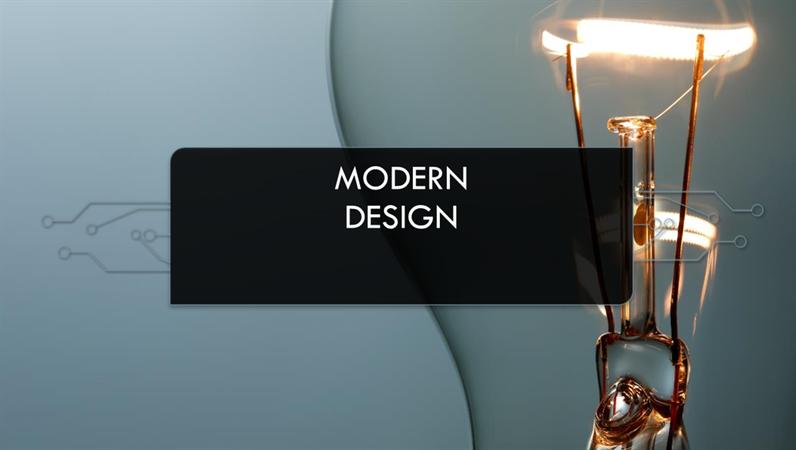 Designen Modern krets