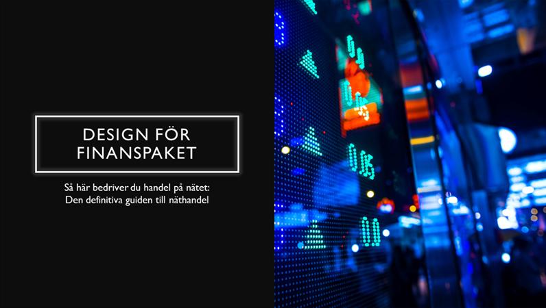 Design för finanspaket