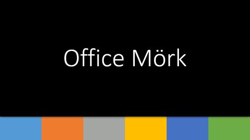 Office mörk 1