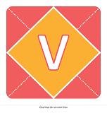 Välkommen flickebarn-banderoll (rosa, gul och grön)