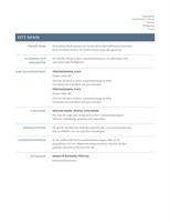 Meritförteckning (tidlös design)