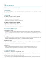 Meritförteckning (färg)
