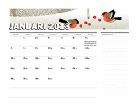 Juliansk kalender 2013 (M-S)