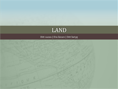 Redovisning om ett land (presentation)