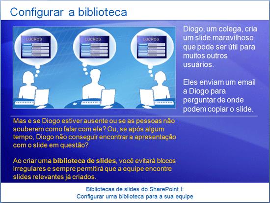 Utbildningspresentation: SharePoint Server 2007 – Presentationsbildbibliotek I: Skapa ett bibliotek för gruppen