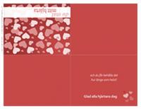 Alla hjärtans dag-kort (kvartsvikning)