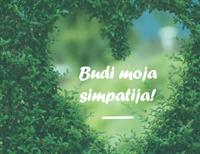 Alla hjärtans dag-kort (halvvikning)