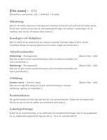 Curriculum vitae (meritförteckning)