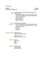 Meritförteckning (funktionell design)