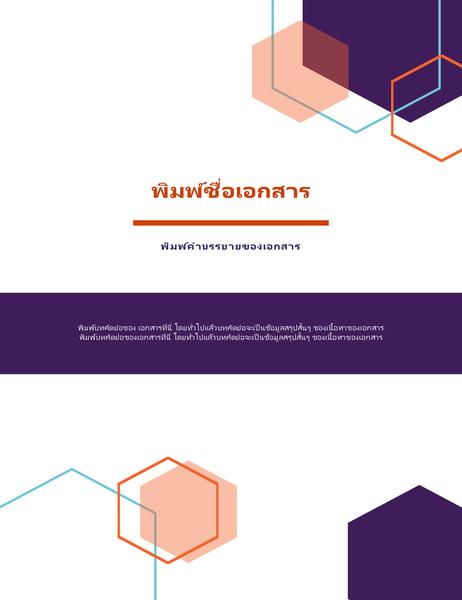 รายงาน (การออกแบบ ผู้บริหาร)