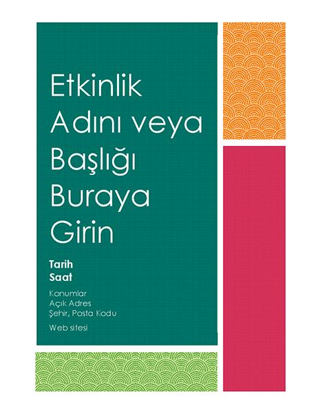 Renkli blok el ilanı