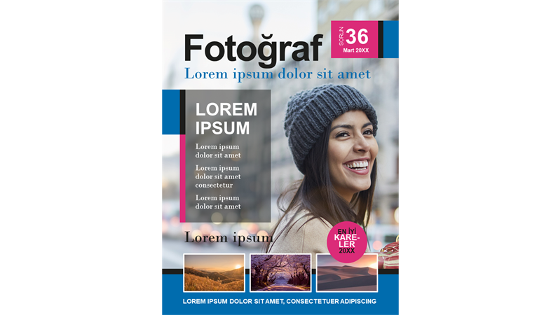 Fotoğrafçılık dergisi kapakları