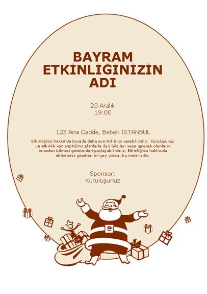 Noel Baba el ilanı