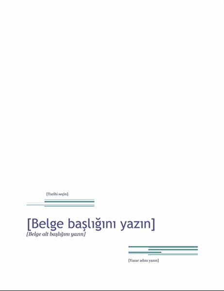 Rapor (Şehir Hayatı teması)