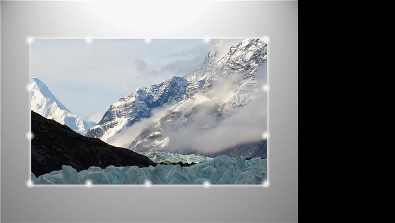 Resim girişinde uçarak sayfaya giren kayan kenarlık ışıkları