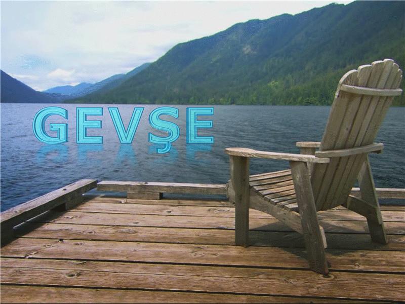 Göl kenarında dinlenme (videolu)