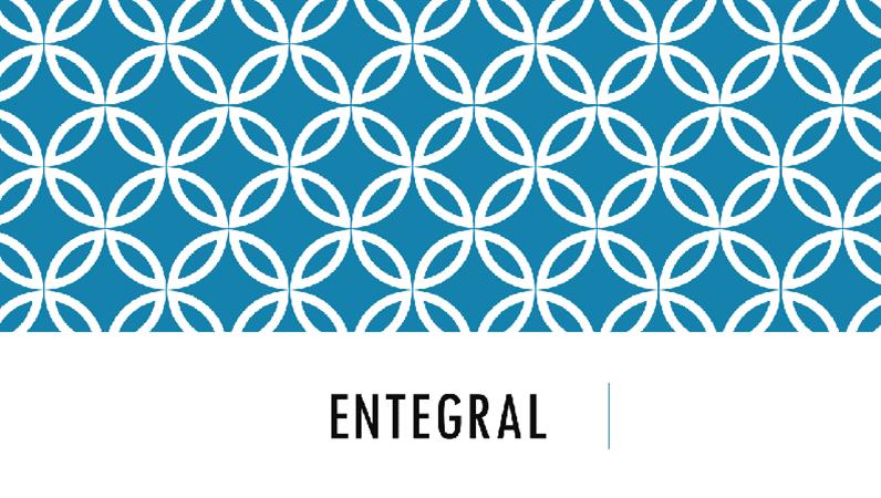 Entegral