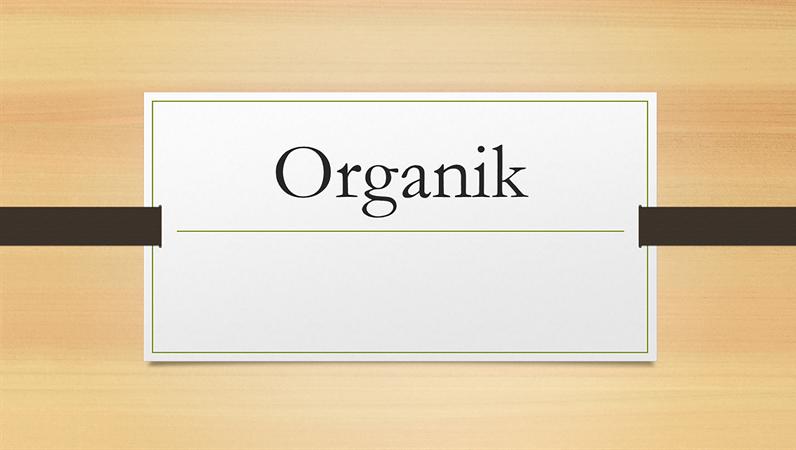 Organik