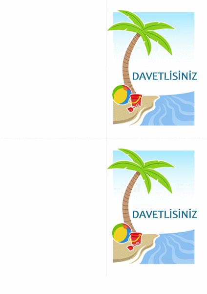 Parti Davetiyesi