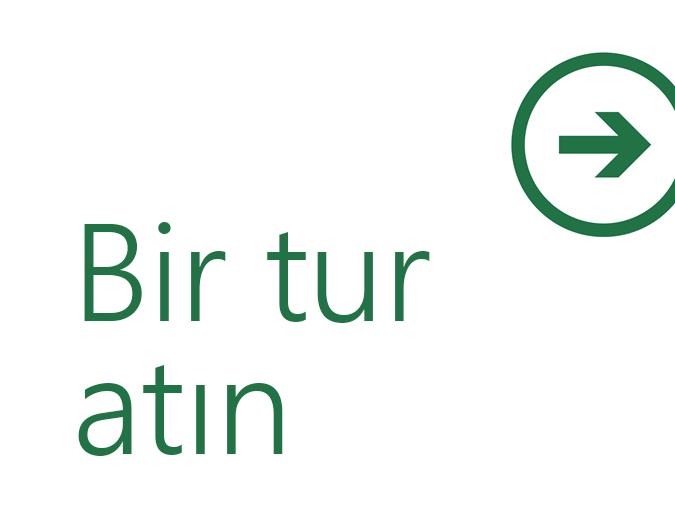 Excel 2013'e Hoş Geldiniz