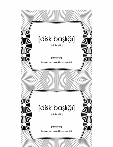 CD iç etiketi