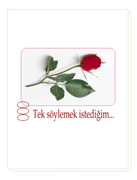 Romantik kart