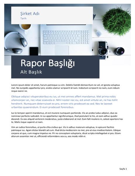 Rapor (Kaynak tasarımı)