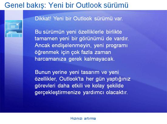 Eğitim sunusu: Outlook 2007—Hızınızı artırın