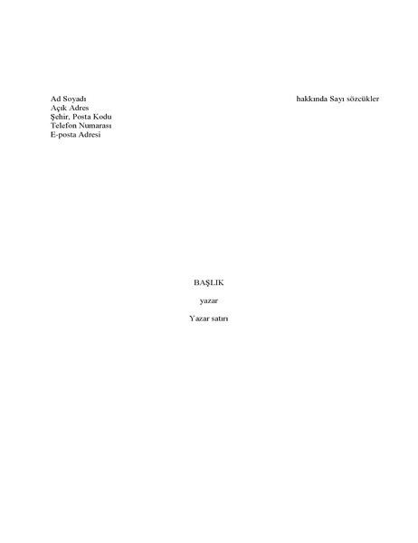 Kitap el yazması