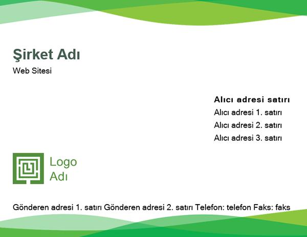 Zarf (Yeşil Dalga tasarımı)