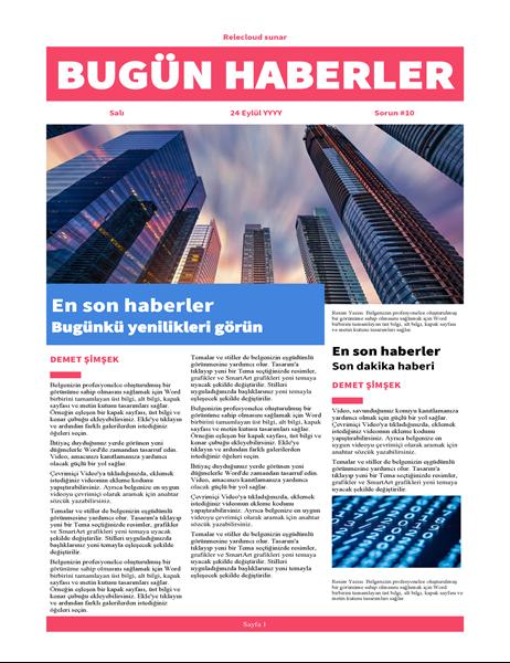 Modern gazete