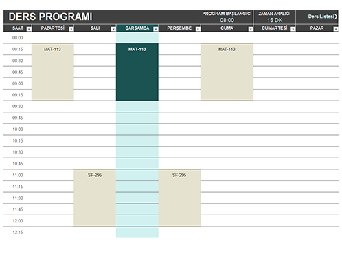 Öğrenci programı