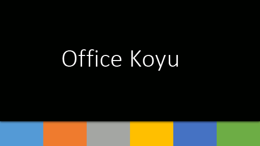 Office Koyu 1