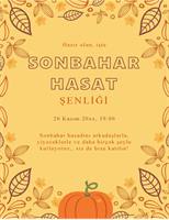 Sonbahar el ilanı