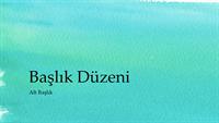 Sulu boya sunusu (geniş ekran)