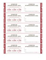 Piyango biletleri