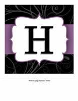 Yıl Dönümü Başlık Sayfası - Şık