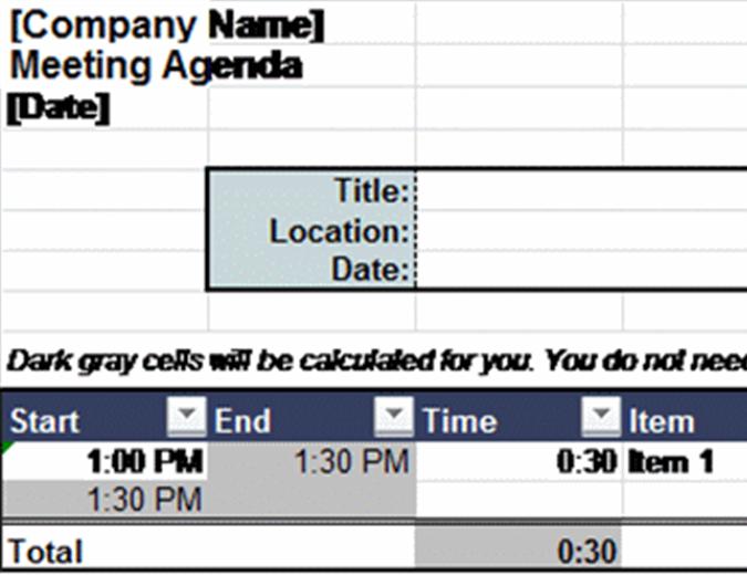 Настроюваний порядок денний наради