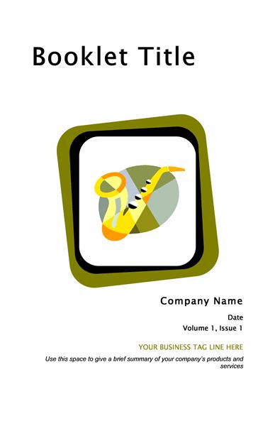 Брошура про товари та послуги (8 1/2 x 11, складена, 8 стор.)