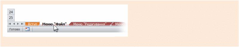 Програма Publisher 2010: збірник відповідностей між меню та стрічкою