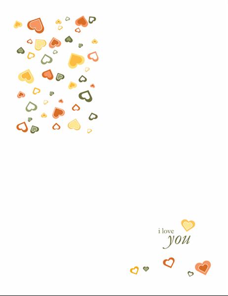 """Листівка """"Я тебе люблю"""""""