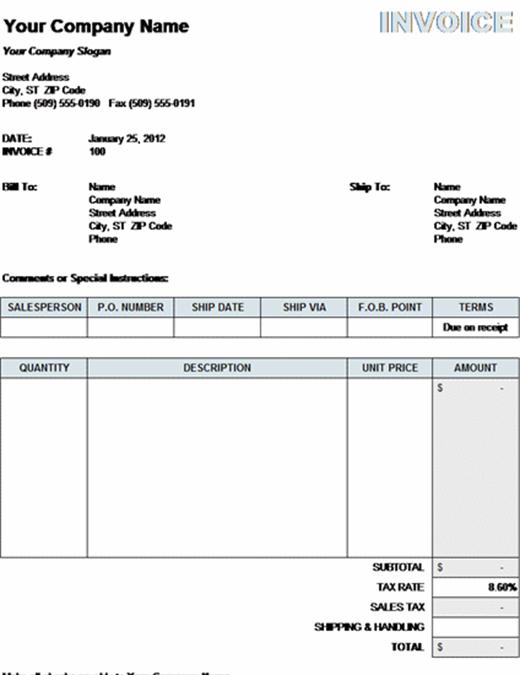 Комерційний рахунок-фактура з урахуванням податків, витрат на транспортування та обробку